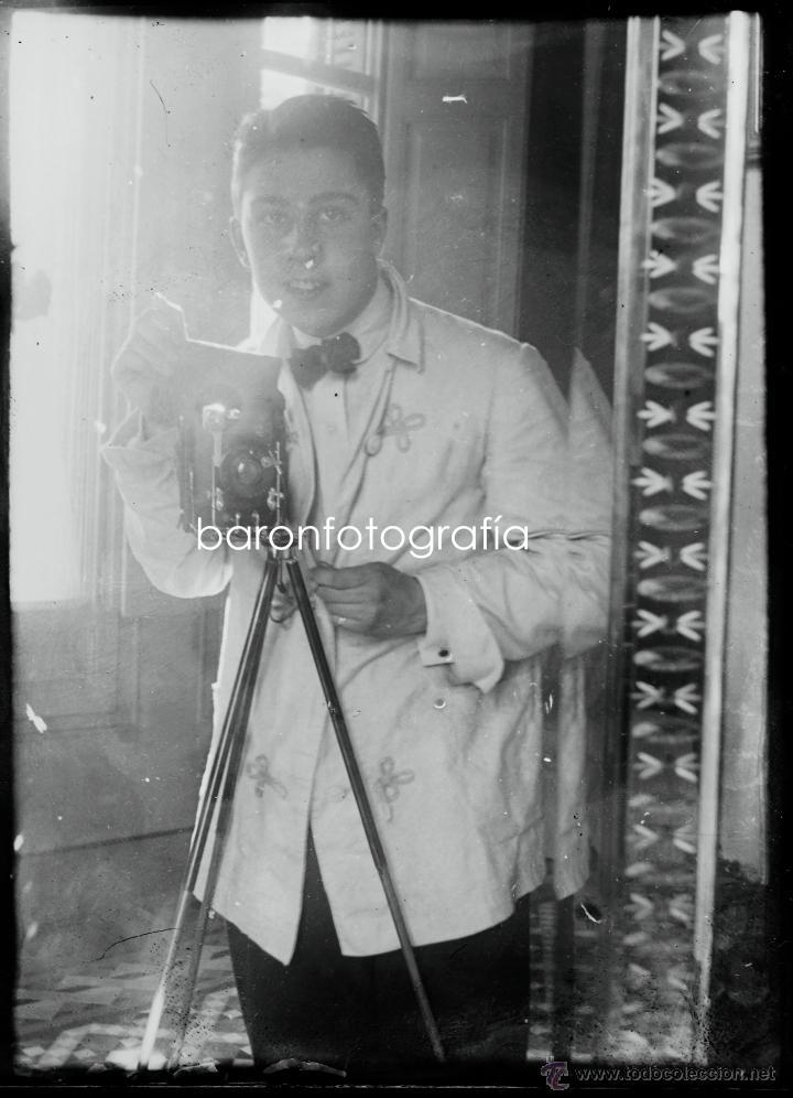 Fotografía antigua: Arenys de Mar, 1915s. Archivo de 450 cristales negativos del fotógrafo Joaquim Castells (1874-1941) - Foto 108 - 44337480