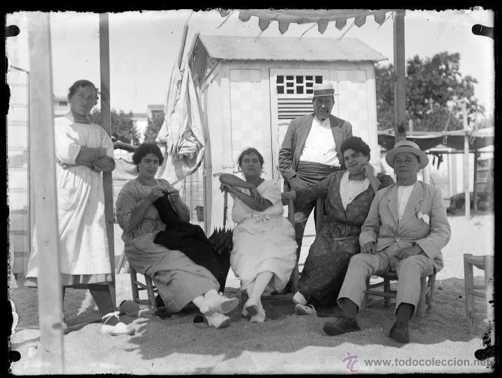 Fotografía antigua: Arenys de Mar, 1915s. Archivo de 450 cristales negativos del fotógrafo Joaquim Castells (1874-1941) - Foto 111 - 44337480