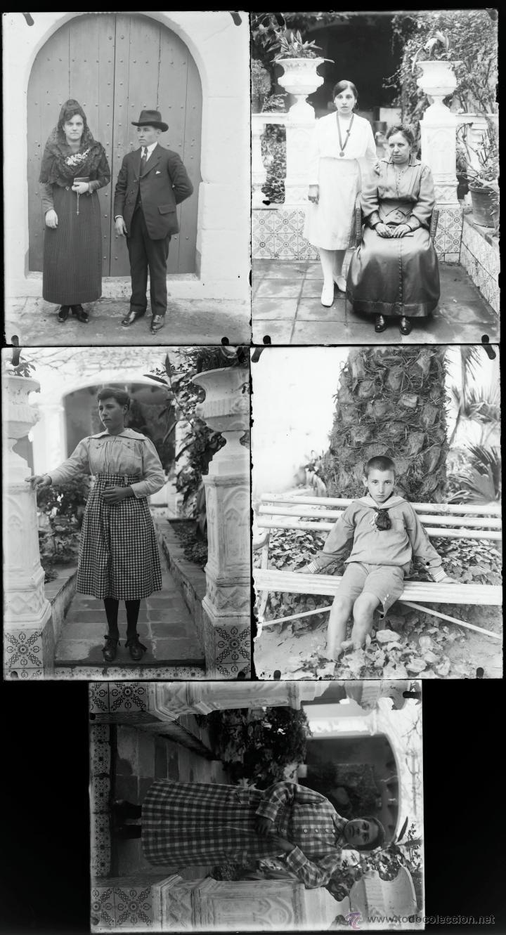 Fotografía antigua: Arenys de Mar, 1915s. Archivo de 450 cristales negativos del fotógrafo Joaquim Castells (1874-1941) - Foto 116 - 44337480