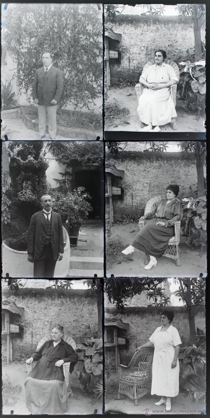 Fotografía antigua: Arenys de Mar, 1915s. Archivo de 450 cristales negativos del fotógrafo Joaquim Castells (1874-1941) - Foto 117 - 44337480