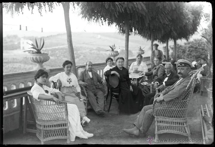 Fotografía antigua: Arenys de Mar, 1915s. Archivo de 450 cristales negativos del fotógrafo Joaquim Castells (1874-1941) - Foto 118 - 44337480