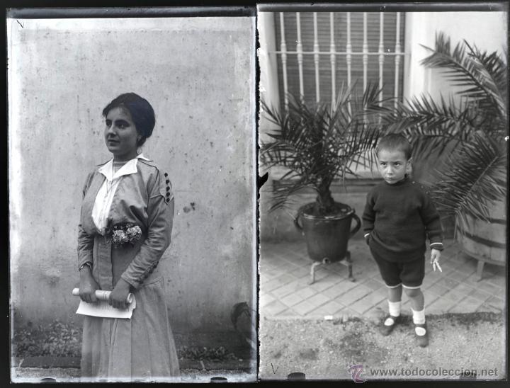 Fotografía antigua: Arenys de Mar, 1915s. Archivo de 450 cristales negativos del fotógrafo Joaquim Castells (1874-1941) - Foto 122 - 44337480