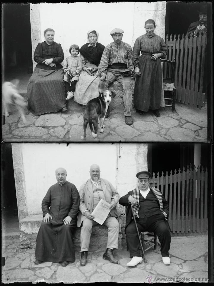Fotografía antigua: Arenys de Mar, 1915s. Archivo de 450 cristales negativos del fotógrafo Joaquim Castells (1874-1941) - Foto 123 - 44337480