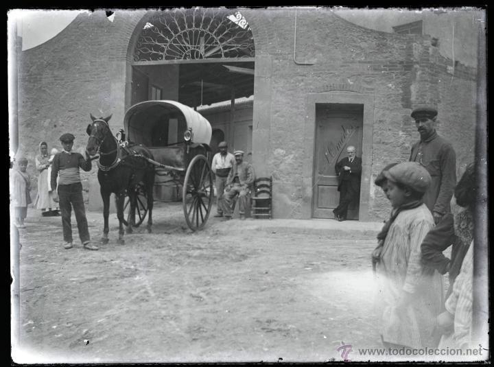 Fotografía antigua: Arenys de Mar, 1915s. Archivo de 450 cristales negativos del fotógrafo Joaquim Castells (1874-1941) - Foto 125 - 44337480