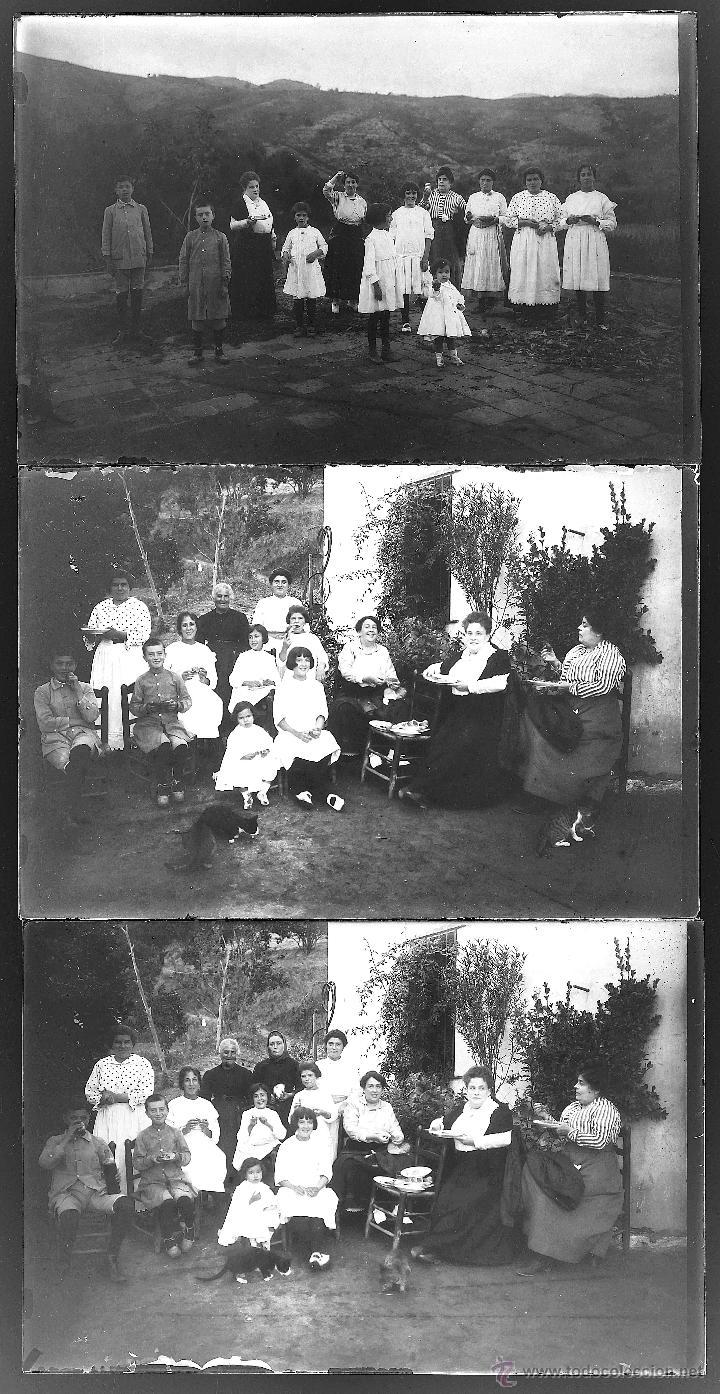 Fotografía antigua: Arenys de Mar, 1915s. Archivo de 450 cristales negativos del fotógrafo Joaquim Castells (1874-1941) - Foto 126 - 44337480