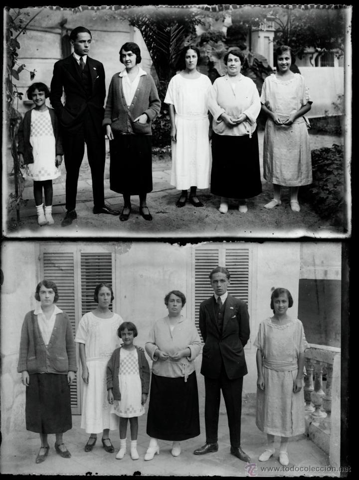 Fotografía antigua: Arenys de Mar, 1915s. Archivo de 450 cristales negativos del fotógrafo Joaquim Castells (1874-1941) - Foto 128 - 44337480