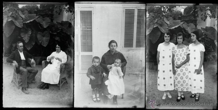 Fotografía antigua: Arenys de Mar, 1915s. Archivo de 450 cristales negativos del fotógrafo Joaquim Castells (1874-1941) - Foto 129 - 44337480