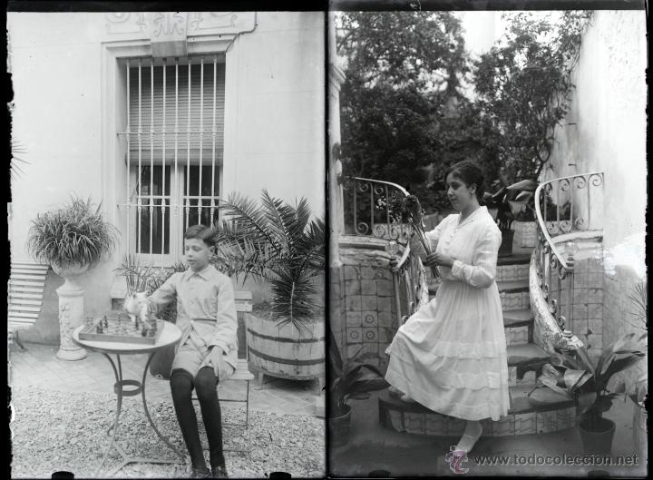 Fotografía antigua: Arenys de Mar, 1915s. Archivo de 450 cristales negativos del fotógrafo Joaquim Castells (1874-1941) - Foto 130 - 44337480