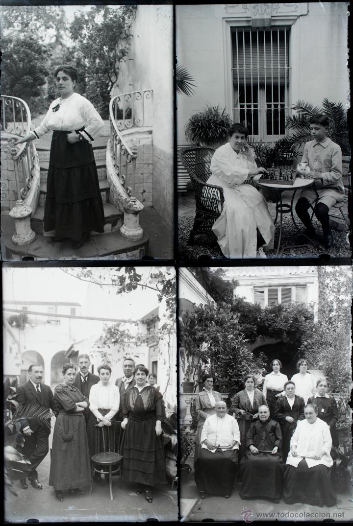 Fotografía antigua: Arenys de Mar, 1915s. Archivo de 450 cristales negativos del fotógrafo Joaquim Castells (1874-1941) - Foto 132 - 44337480