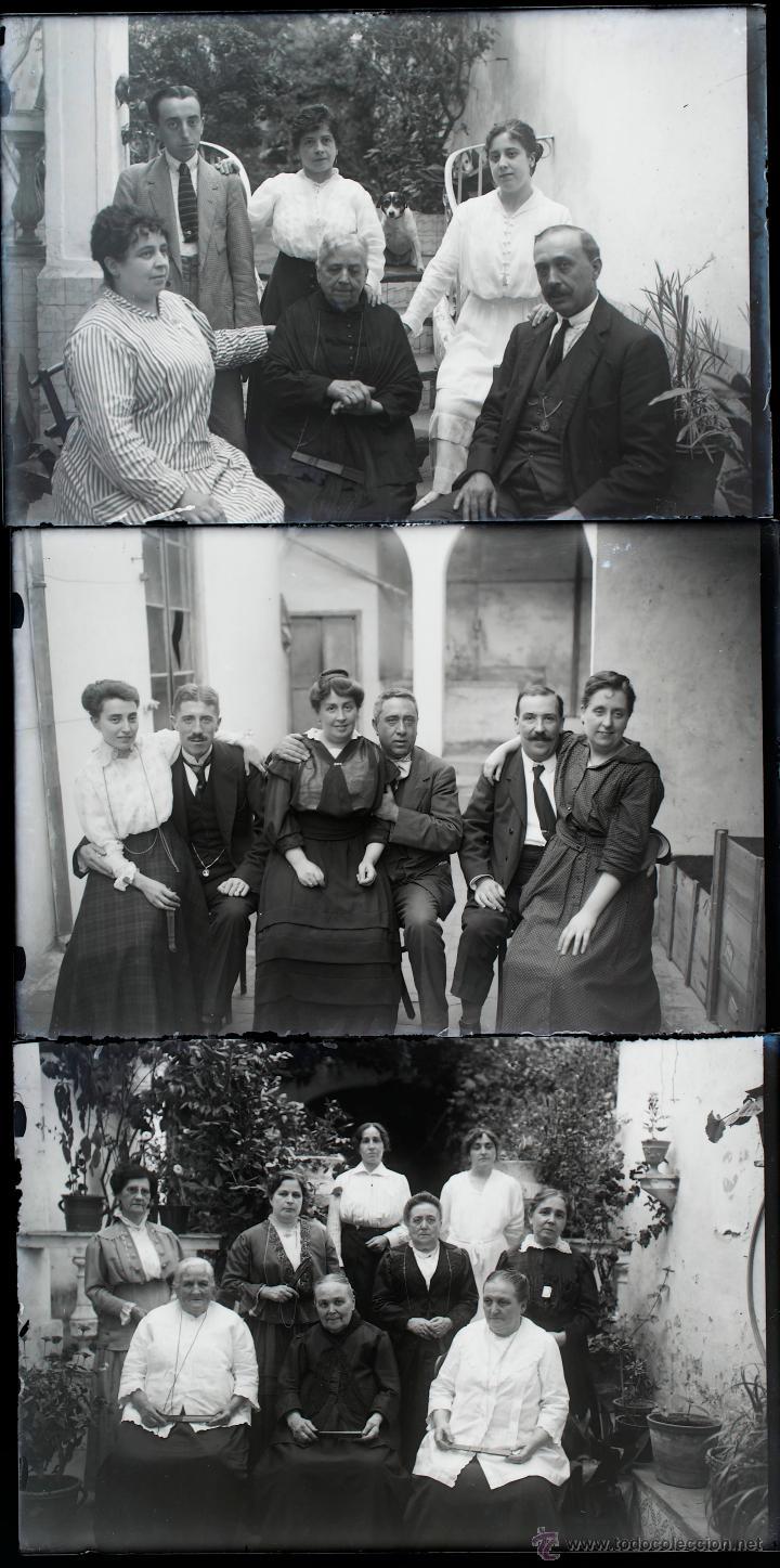 Fotografía antigua: Arenys de Mar, 1915s. Archivo de 450 cristales negativos del fotógrafo Joaquim Castells (1874-1941) - Foto 134 - 44337480