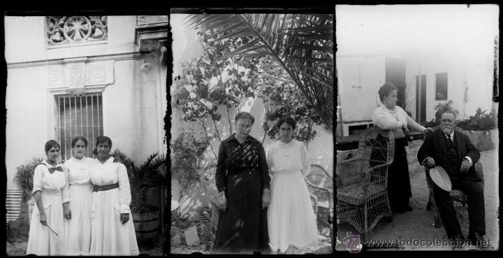 Fotografía antigua: Arenys de Mar, 1915s. Archivo de 450 cristales negativos del fotógrafo Joaquim Castells (1874-1941) - Foto 136 - 44337480