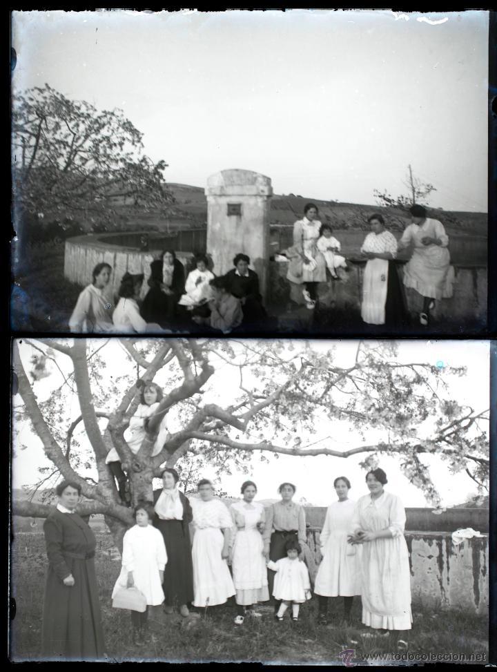 Fotografía antigua: Arenys de Mar, 1915s. Archivo de 450 cristales negativos del fotógrafo Joaquim Castells (1874-1941) - Foto 139 - 44337480