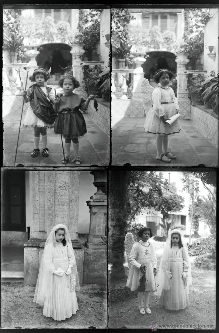 Fotografía antigua: Arenys de Mar, 1915s. Archivo de 450 cristales negativos del fotógrafo Joaquim Castells (1874-1941) - Foto 140 - 44337480
