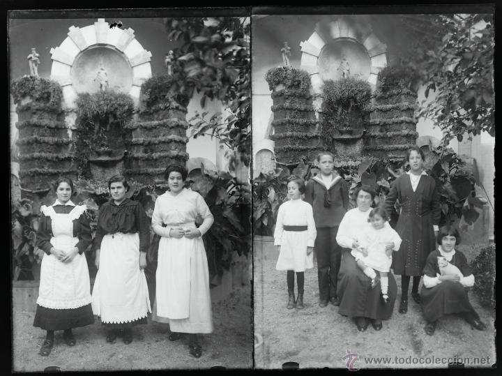 Fotografía antigua: Arenys de Mar, 1915s. Archivo de 450 cristales negativos del fotógrafo Joaquim Castells (1874-1941) - Foto 141 - 44337480