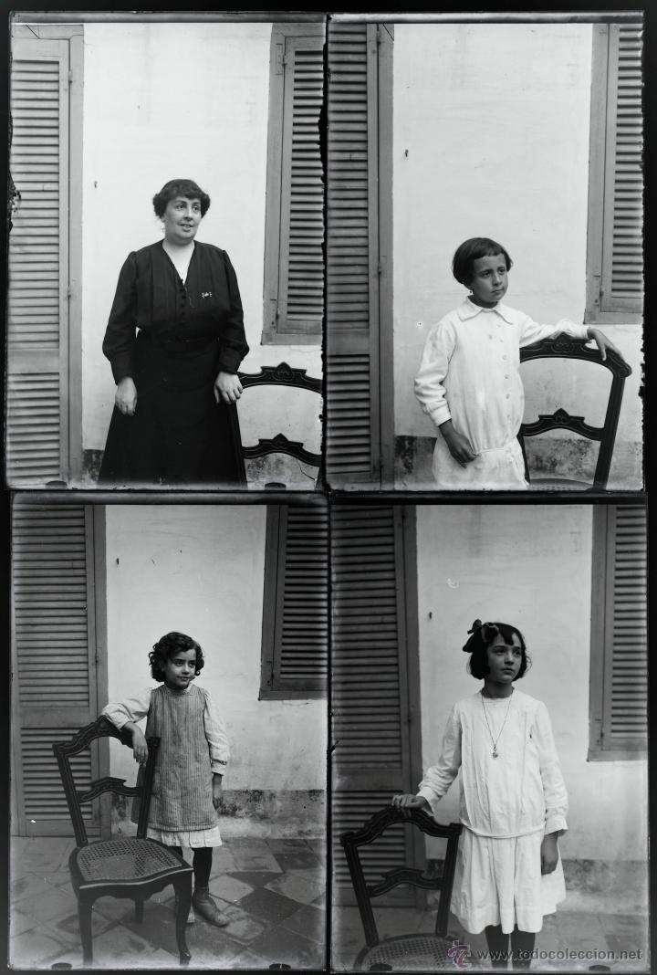 Fotografía antigua: Arenys de Mar, 1915s. Archivo de 450 cristales negativos del fotógrafo Joaquim Castells (1874-1941) - Foto 144 - 44337480
