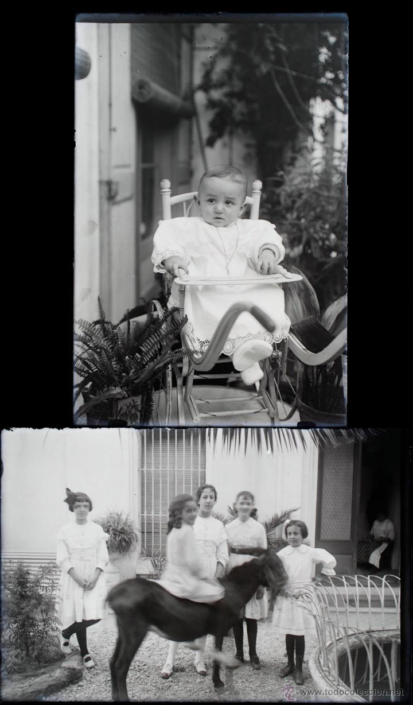 Fotografía antigua: Arenys de Mar, 1915s. Archivo de 450 cristales negativos del fotógrafo Joaquim Castells (1874-1941) - Foto 147 - 44337480