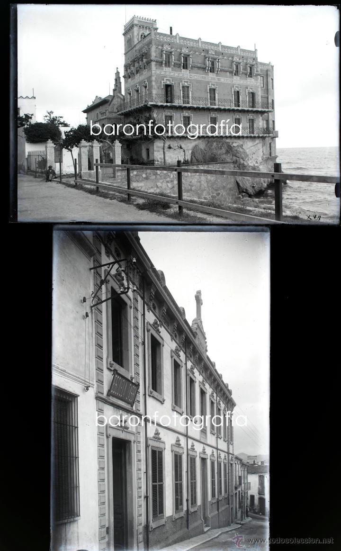 Fotografía antigua: Arenys de Mar, 1915s. Archivo de 450 cristales negativos del fotógrafo Joaquim Castells (1874-1941) - Foto 150 - 44337480