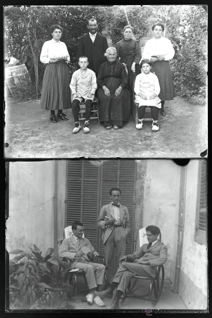 Fotografía antigua: Arenys de Mar, 1915s. Archivo de 450 cristales negativos del fotógrafo Joaquim Castells (1874-1941) - Foto 151 - 44337480