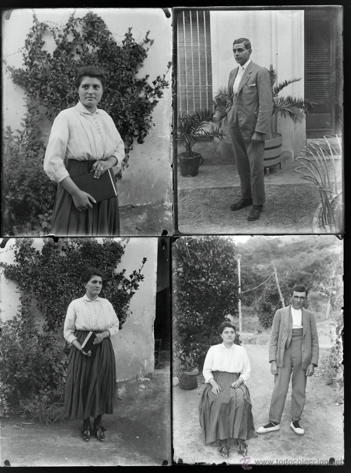 Fotografía antigua: Arenys de Mar, 1915s. Archivo de 450 cristales negativos del fotógrafo Joaquim Castells (1874-1941) - Foto 153 - 44337480