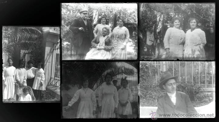 Fotografía antigua: Arenys de Mar, 1915s. Archivo de 450 cristales negativos del fotógrafo Joaquim Castells (1874-1941) - Foto 155 - 44337480