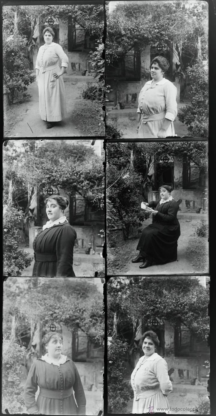 Fotografía antigua: Arenys de Mar, 1915s. Archivo de 450 cristales negativos del fotógrafo Joaquim Castells (1874-1941) - Foto 156 - 44337480