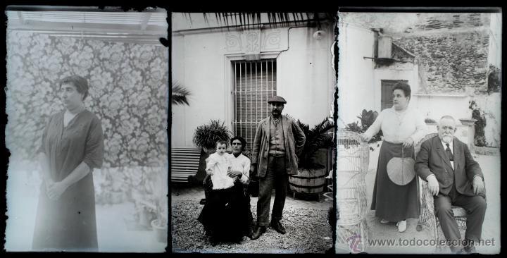 Fotografía antigua: Arenys de Mar, 1915s. Archivo de 450 cristales negativos del fotógrafo Joaquim Castells (1874-1941) - Foto 159 - 44337480
