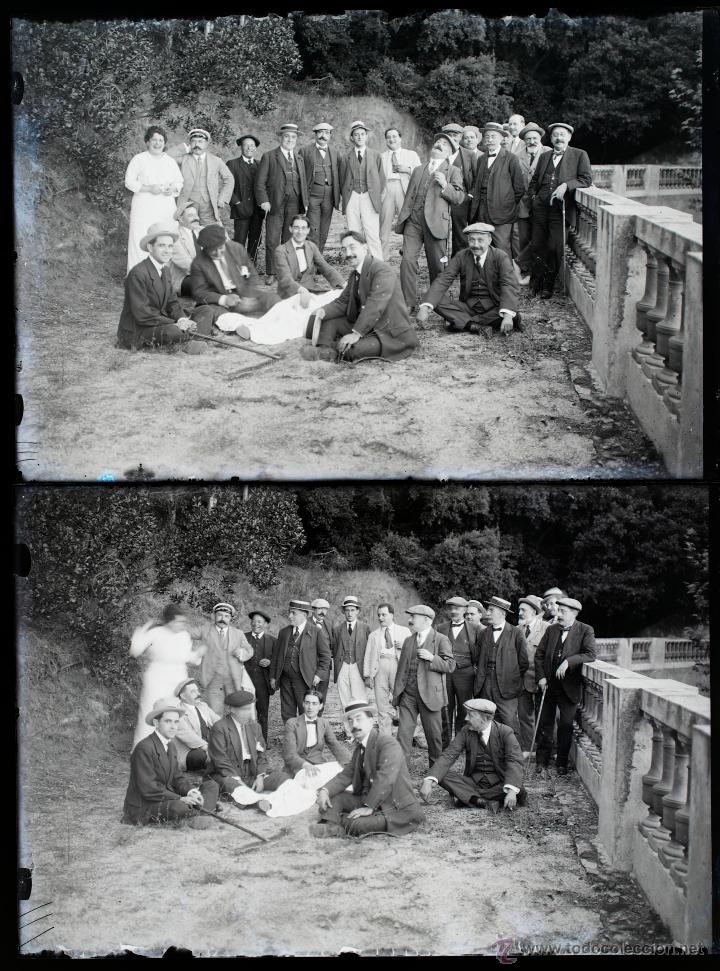 Fotografía antigua: Arenys de Mar, 1915s. Archivo de 450 cristales negativos del fotógrafo Joaquim Castells (1874-1941) - Foto 160 - 44337480