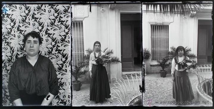 Fotografía antigua: Arenys de Mar, 1915s. Archivo de 450 cristales negativos del fotógrafo Joaquim Castells (1874-1941) - Foto 161 - 44337480