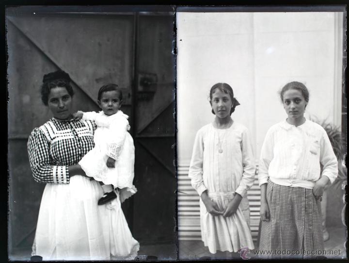 Fotografía antigua: Arenys de Mar, 1915s. Archivo de 450 cristales negativos del fotógrafo Joaquim Castells (1874-1941) - Foto 162 - 44337480