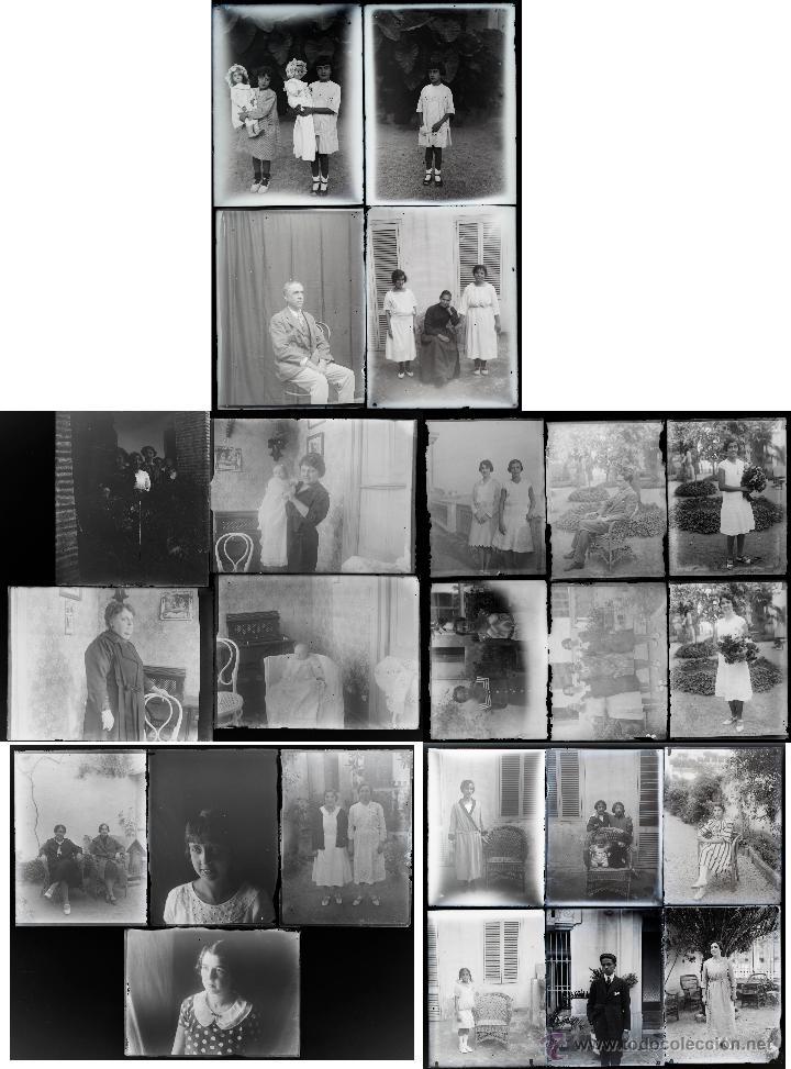 Fotografía antigua: Arenys de Mar, 1915s. Archivo de 450 cristales negativos del fotógrafo Joaquim Castells (1874-1941) - Foto 164 - 44337480