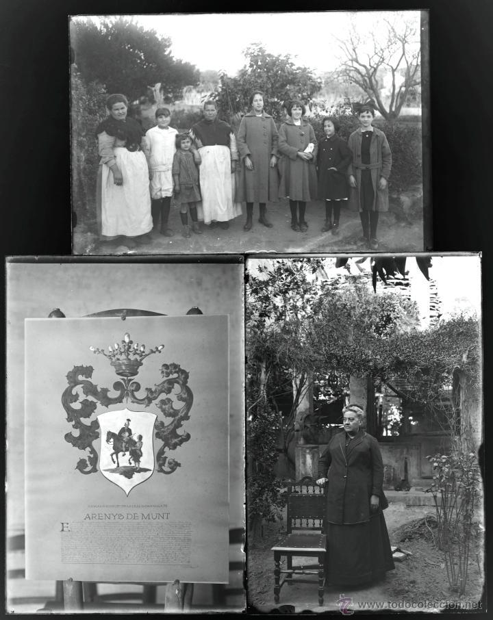 Fotografía antigua: Arenys de Mar, 1915s. Archivo de 450 cristales negativos del fotógrafo Joaquim Castells (1874-1941) - Foto 166 - 44337480