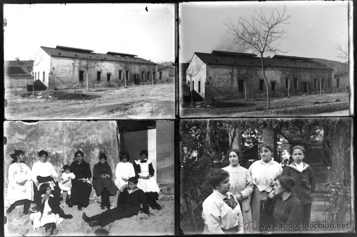 Fotografía antigua: Arenys de Mar, 1915s. Archivo de 450 cristales negativos del fotógrafo Joaquim Castells (1874-1941) - Foto 169 - 44337480