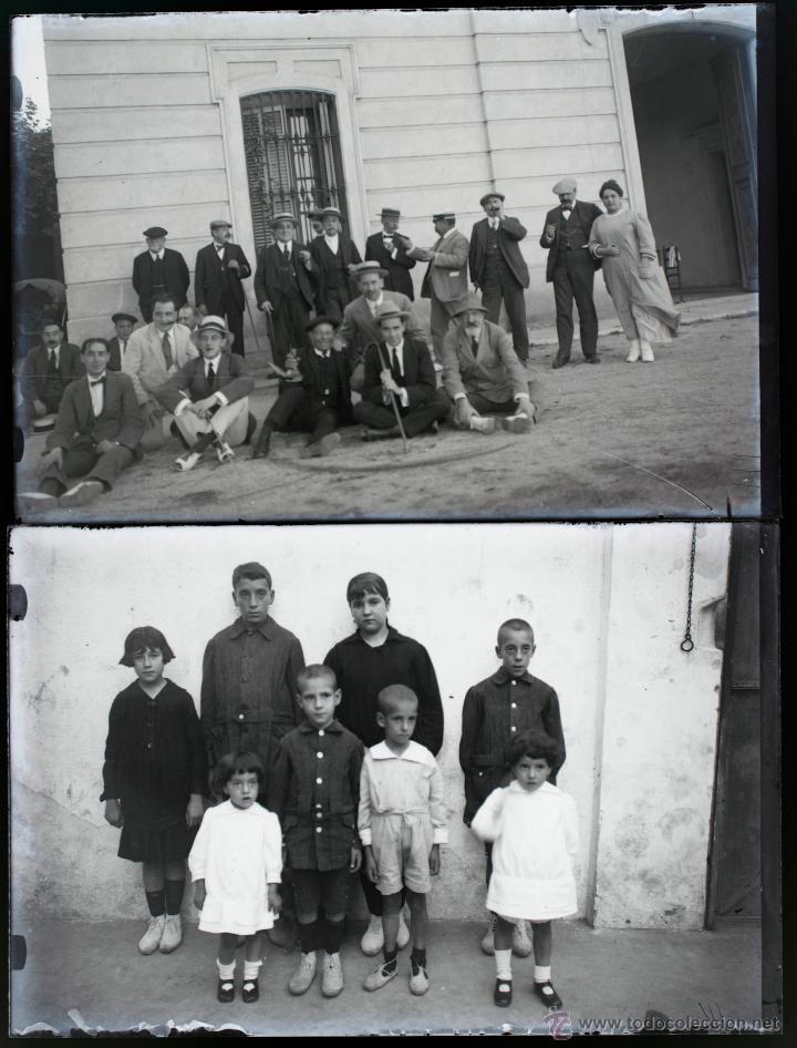 Fotografía antigua: Arenys de Mar, 1915s. Archivo de 450 cristales negativos del fotógrafo Joaquim Castells (1874-1941) - Foto 170 - 44337480