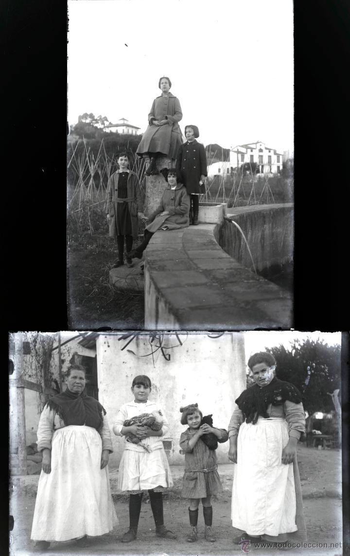 Fotografía antigua: Arenys de Mar, 1915s. Archivo de 450 cristales negativos del fotógrafo Joaquim Castells (1874-1941) - Foto 171 - 44337480