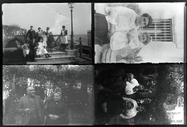 Fotografía antigua: Arenys de Mar, 1915s. Archivo de 450 cristales negativos del fotógrafo Joaquim Castells (1874-1941) - Foto 172 - 44337480