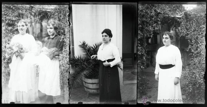Fotografía antigua: Arenys de Mar, 1915s. Archivo de 450 cristales negativos del fotógrafo Joaquim Castells (1874-1941) - Foto 174 - 44337480