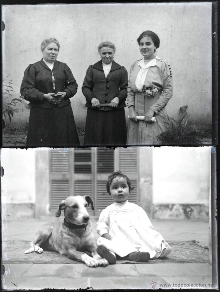 Fotografía antigua: Arenys de Mar, 1915s. Archivo de 450 cristales negativos del fotógrafo Joaquim Castells (1874-1941) - Foto 178 - 44337480