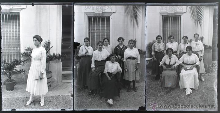 Fotografía antigua: Arenys de Mar, 1915s. Archivo de 450 cristales negativos del fotógrafo Joaquim Castells (1874-1941) - Foto 179 - 44337480