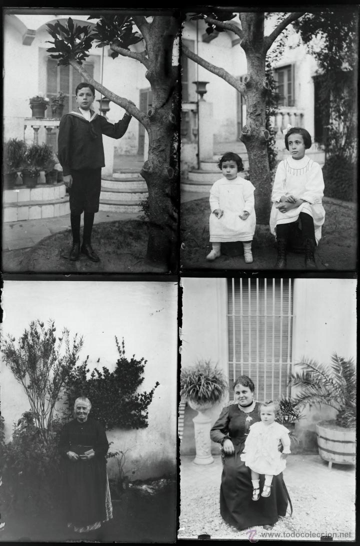 Fotografía antigua: Arenys de Mar, 1915s. Archivo de 450 cristales negativos del fotógrafo Joaquim Castells (1874-1941) - Foto 181 - 44337480