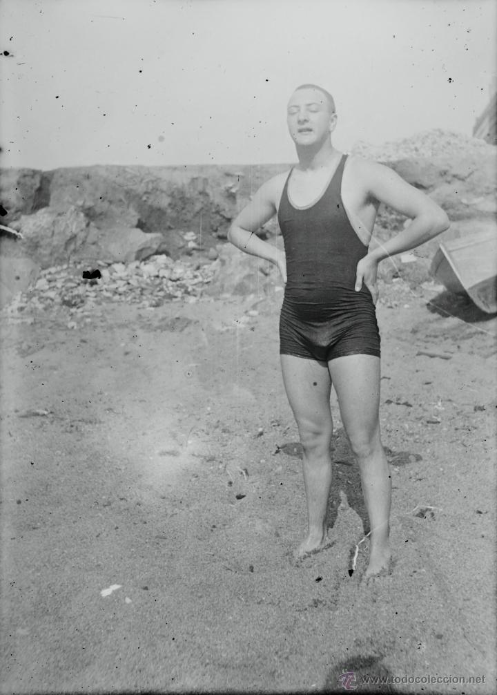 Fotografía antigua: Arenys de Mar, 1915s. Archivo de 450 cristales negativos del fotógrafo Joaquim Castells (1874-1941) - Foto 185 - 44337480