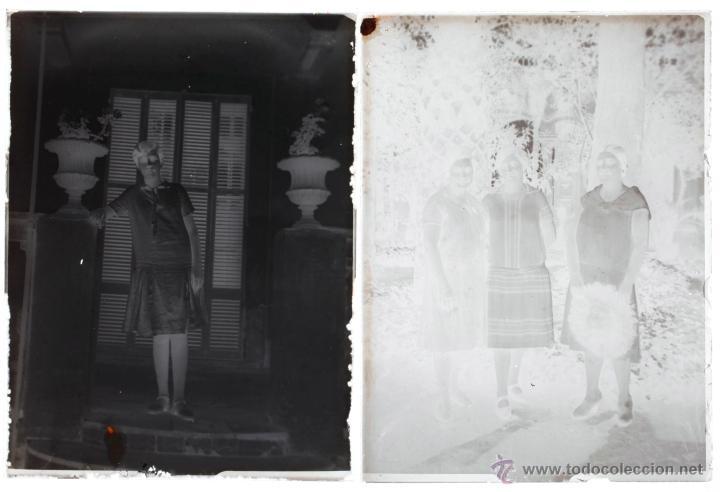Fotografía antigua: Arenys de Mar, 1915s. Archivo de 450 cristales negativos del fotógrafo Joaquim Castells (1874-1941) - Foto 187 - 44337480