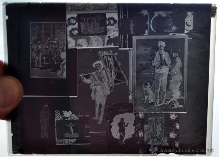 FOTOGRAFÍA EN CRISTAL TEMÁTICA DE ESPACTÁCULOS O SIMILAR. PRINCIPIOS SIGLO XX (Fotografía Antigua - Gelatinobromuro)