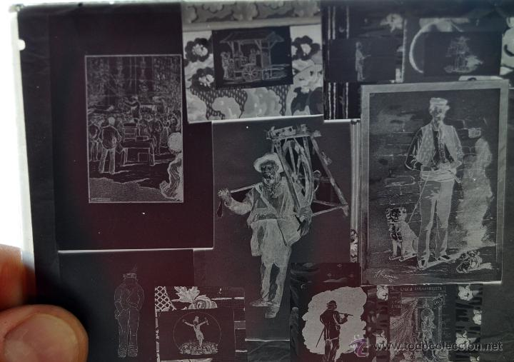 Fotografía antigua: FOTOGRAFÍA EN CRISTAL TEMÁTICA DE ESPACTÁCULOS O SIMILAR. PRINCIPIOS SIGLO XX - Foto 3 - 45578463
