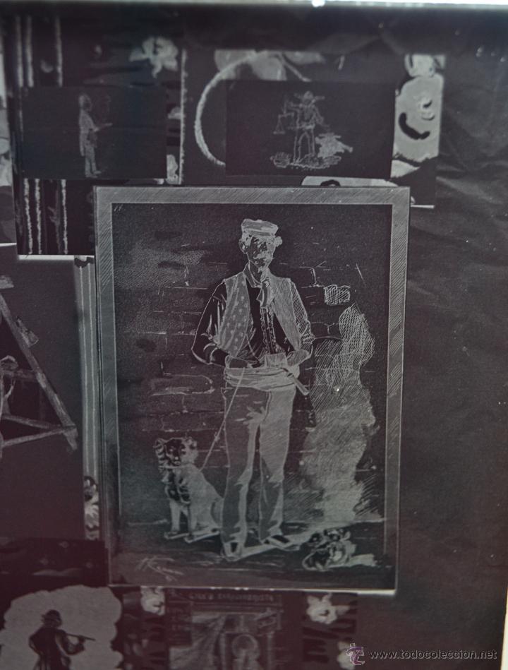 Fotografía antigua: FOTOGRAFÍA EN CRISTAL TEMÁTICA DE ESPACTÁCULOS O SIMILAR. PRINCIPIOS SIGLO XX - Foto 5 - 45578463