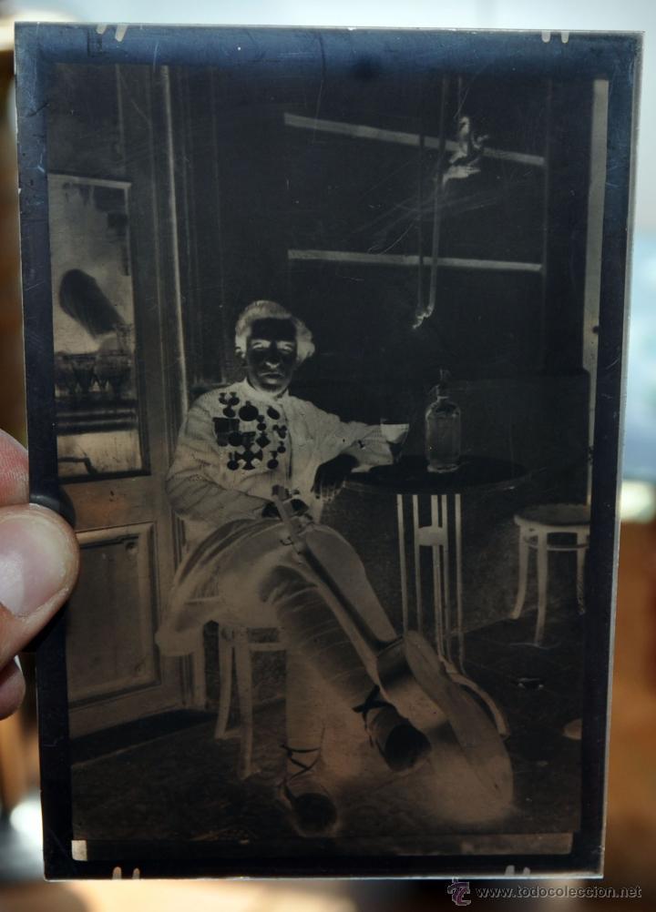 Fotografía antigua: FOTOGRAFÍA EN CRISTAL DE UN MILITAR?? PRINCIPIOS SIGLO XX. GUERRA CIVIL - Foto 3 - 45579231