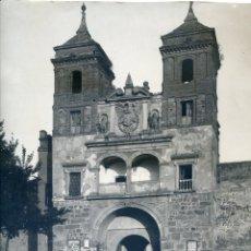 Fotografía antigua: TOLEDO. PUERTA DEL CAMBRÓN. COLECCIÓN MORENO, MADRID. 22,7X28,2 CM. GRAN NITIDEZ, CARTEL SINGER. Lote 45932978