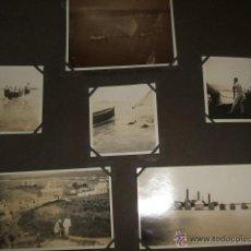 Fotografía antigua: PALAMOS GERONA GIRONA 1928 7 FOTOGRAFIAS POR VIAJERO ALEMAN. Lote 46356840