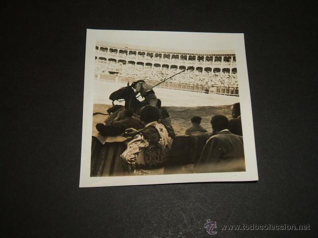 ARANJUEZ MADRID PLAZA DE TOROS ANTIGUA FOTOGRAFIA AÑOS 40 (Fotografía Antigua - Gelatinobromuro)