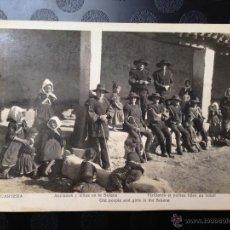 Fotografía antigua: ANCIANOS Y NIÑAS. LAGARTERA (TOLEDO). Lote 46613749