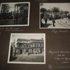Fotografía antigua: SEVILLA JEREZ DE LA FRONTERA CADIZ 11 FOTOGRAFIAS 1933 POR VIAJERO ALEMAN. Lote 46704641
